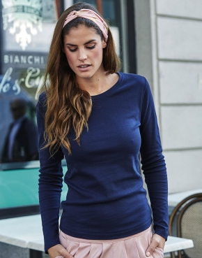 Ladies LS Interlock T-Shirt