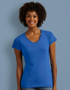 Ladies' Softstyle® V-Neck T-Shirt