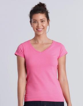 Ladies' Softstyle® V-Neck T-Shirt