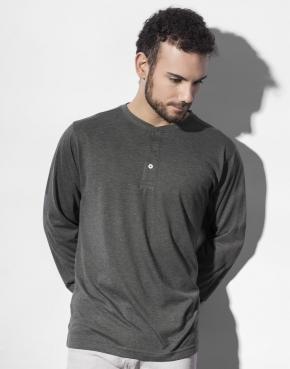 Aden Men's LS Henley T-Shirt