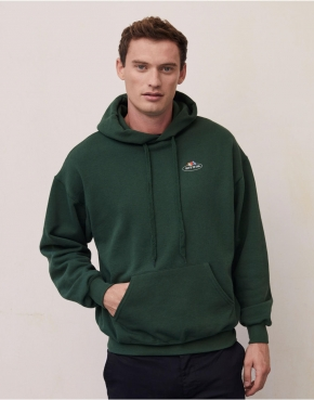 Vintage Hooded Sweat Classic Small Logo Print