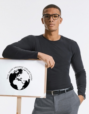Men's Pure Organic L/S Tee