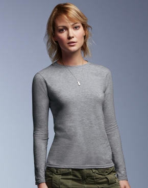 Women's Fashion Basic LS Tee