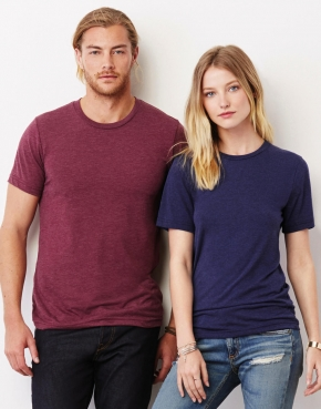 Unisex Triblend Crew Neck T-Shirt