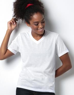 Dámske tričko Subli Plus V-Neck