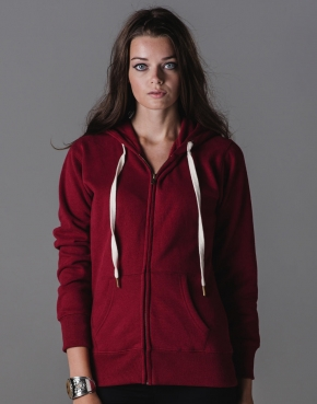 Ladies' Superstar Zip Through Hoodie