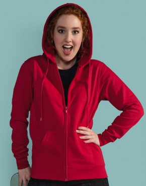 Ladies' Zip Hood