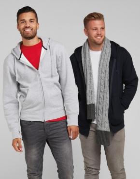 Men's Full Zip Urban Hoodie
