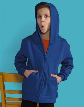 Kids' Zip Hood