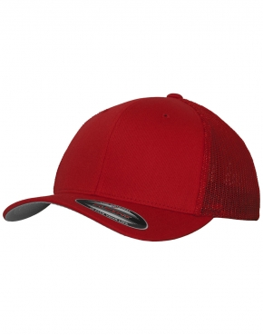 Mesh Cotton Twill Trucker Cap