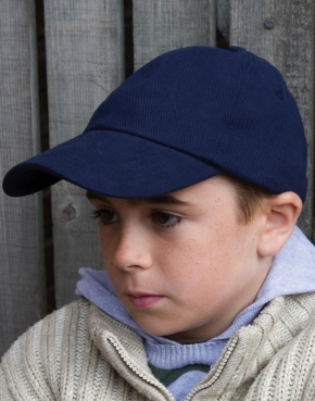 Kids Brushed Cotton Cap