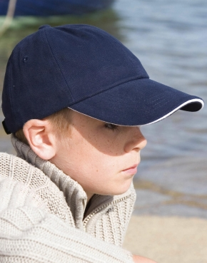 Junior Brushed Cotton Cap