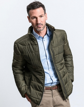 Men's Hooded Nano Jacket