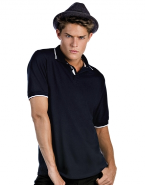 Tipped Polo - PU413