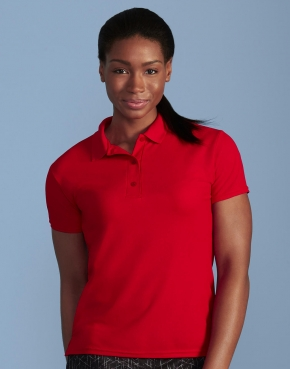 Performance® Ladies' Double Piqué Polo