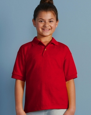Kids' DryBlend® Jersey Polo