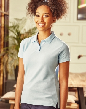 Ladies' Polo Poly-Cotton Blend