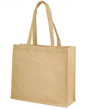 Calcutta Long Handled Jute Shopper Bag