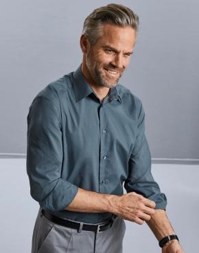Tailored Poplin Shirt LS