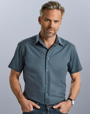 Tailored Poplin Shirt