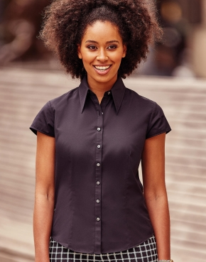 Tencel® Fitted Bluse