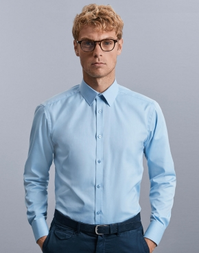 Men's LS Herringbone Shirt