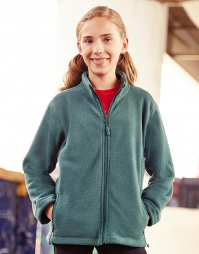 Kids' Full Zip Outdoor Fleece