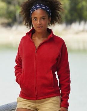 Full Zip Fleece Jacket Lady-Fit