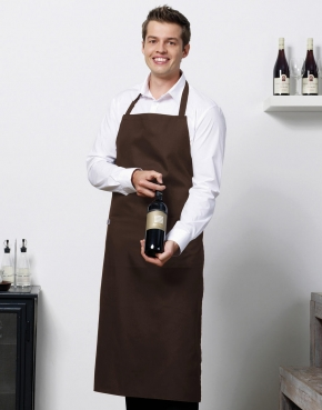 'Amsterdam' Bib Apron with Pocket