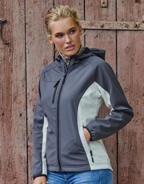 Ladies' Hooded Lightweight Performance Softshell